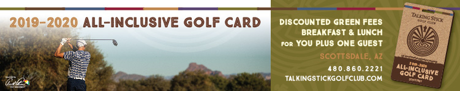 2019 Talking Stick Golf Card Horizontal