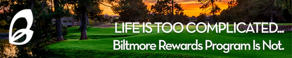 2020 Biltmore Rewards Horizontal Banner