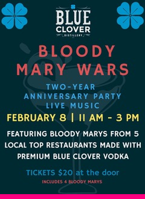 2020 Blue Clover Bloody Mary Wars