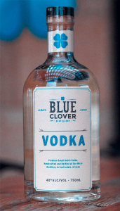 Blue Clover Distillery Spirits