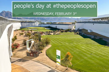 "Wednesday at the Waste Management Phoenix Open Declared ""The People's Day at the People's Open"""
